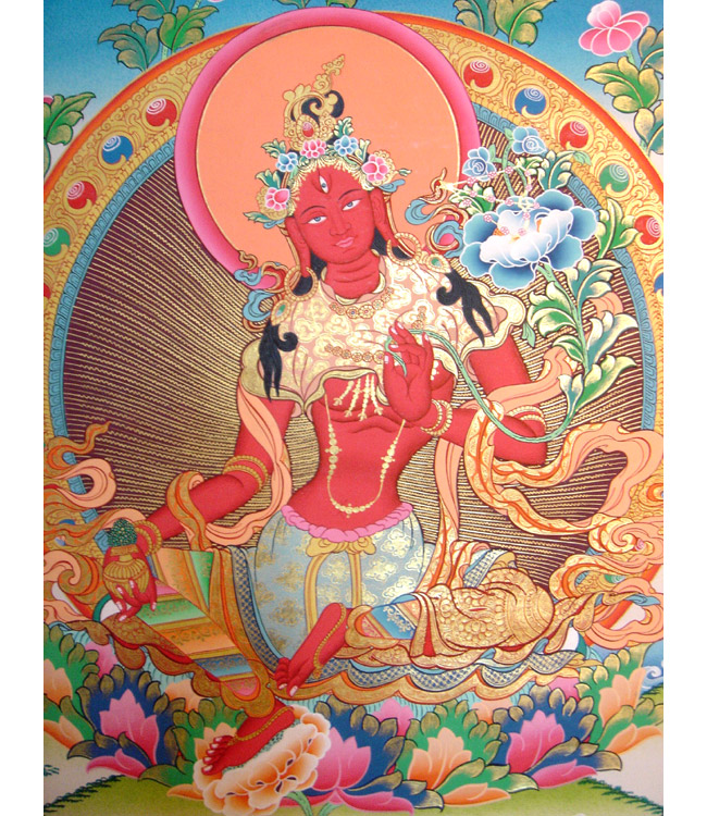 red_tara_thangka_17241a