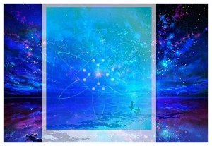 reuche light on starry sky by emerald guardians
