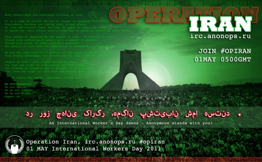 OpIran-Anonymous-Hackers