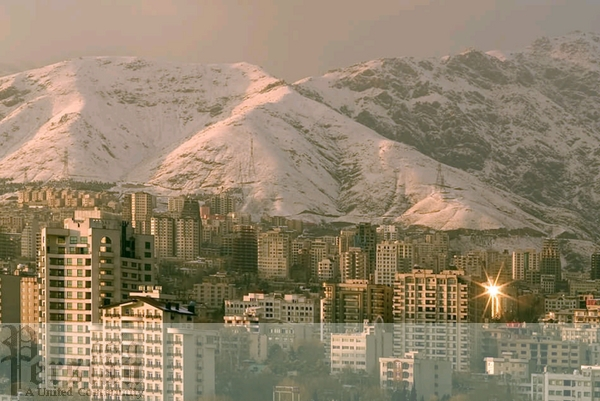tehran_and_snow_cover