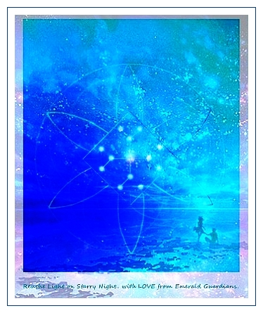 reucha light on starry sky with love from emerald guardians vvv